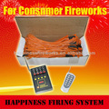 Sistema de fuegos artiiciales de 4 canales con nuevos receptores, sistema de control de ignición