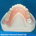Valplast dental con ivoclar dientes extraíbles/flexible parcial inferior de las prótesis dentales