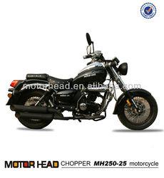 Oil air cooled 150cc 200cc 250cc eec chopper motorcycle