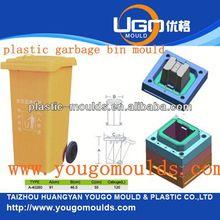 bamboo trash can mould and 2013 plastic Garbage bin mould in taizhou,zhejiang