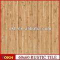madera de acacia cubierta de tejas