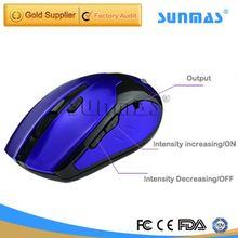 Sunmas SM9025 mouse with massage function tens massage units