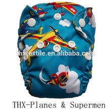2015 new arrival Eco-friendly THX Newborn AIO cloth diaper/nappy