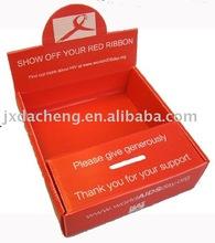AIDS DONATION FOLDING BOX