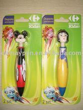 retractable cartoon ball pen