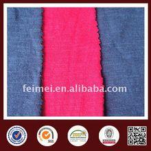 Slub yarn single jersey cotton knit fabric