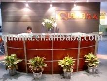 China manufacturer Wooden Round Reception Desk