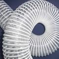 Tubería plástica de PVC con alambre de acero