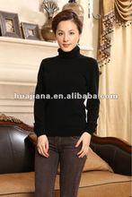 winter season women's cashmere sweater turtleneck