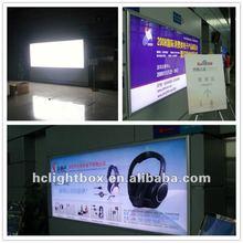 LED backlit poster frames