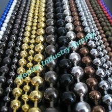 Fashion colorful round ball chain metal bead curtain