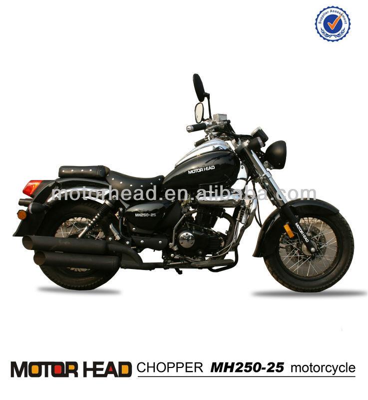 空冷オイル200CC250CC150ccの大きなチョッパーのオートバイ