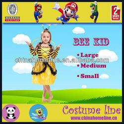 Yellow Bee Kids Fancy Halloween Costume