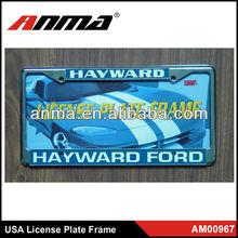 auto accessories car license plate frames manufacturer