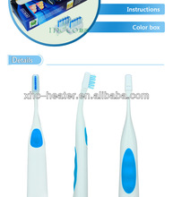 ultrasonic rechargeable baby electric sonic toothbrush