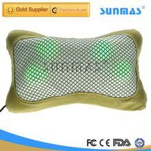 Sunmas SM9130 pain back vibrators car neck rest pillow