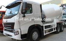 new style sinotruk howo 6x4 concrete mixer truck 266hp euro 2