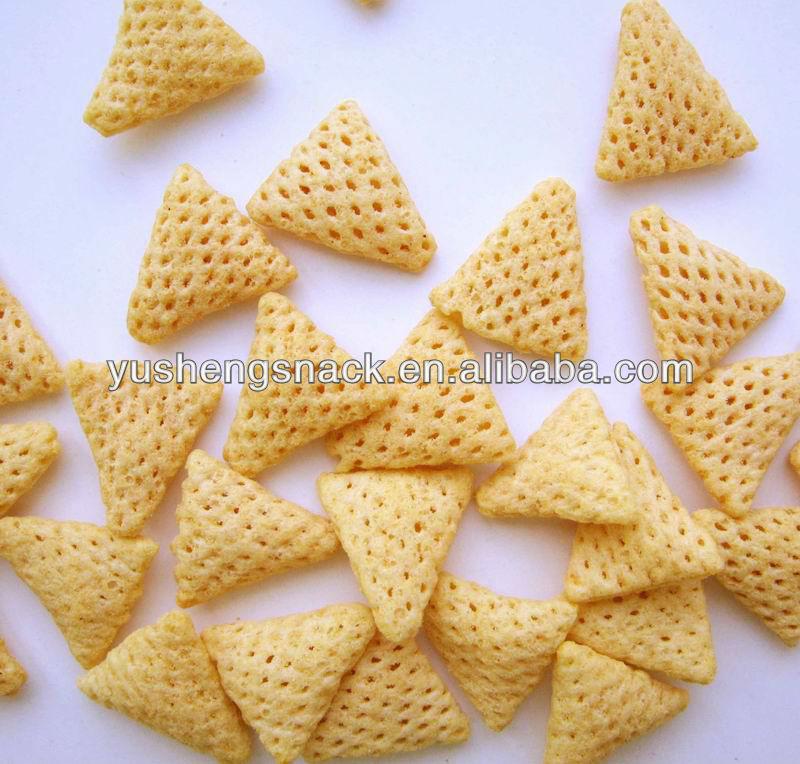 Crispy corn snacks
