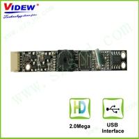2.0Megapixels 66 degree FOV usb web camera module