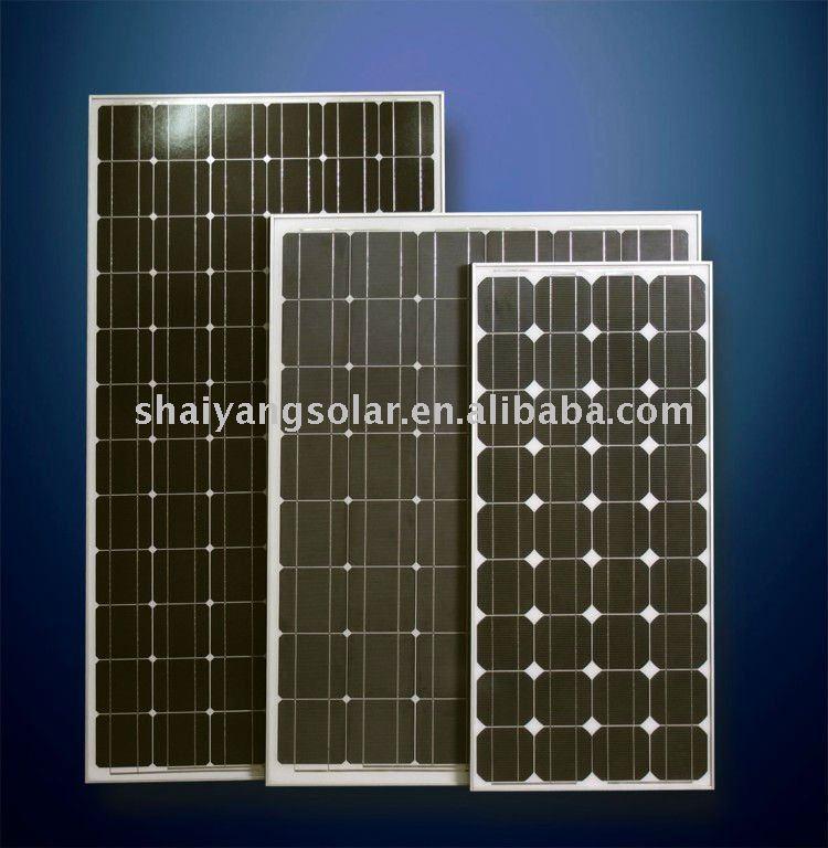 140W solar panel/monocrystalline solar panel