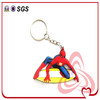 2014 custom funny soft pvc key chain
