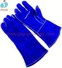 welding leather work gloves reinforced isolation glove box