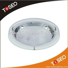 CFL round glass light cover