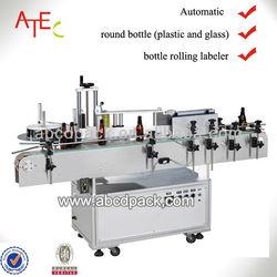 automatic round bottle label sticker machine