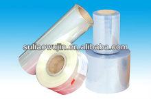 black gloss self adhesive rigid pvc transparent film jumbo roll