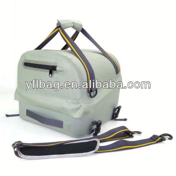 Tarpaulin waterproof fishing tackle bag