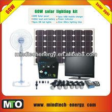 60w silicon solar systems