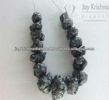 raw uncut rough black diamond for sales