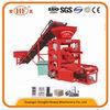 Good performance cement block machine! Hongfa QTJ4-26C semi-automatic small cement block making machine