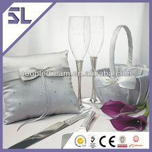 High Quantity Design Platinum Decorated Wedding Collection