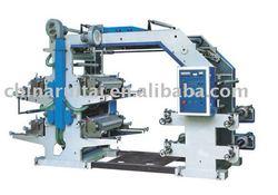 YT 4 Color Flexographic Printing Machine