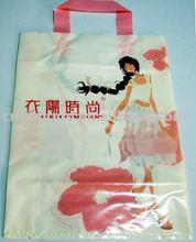 LDPE custom printing handle shopping plastic printing bag