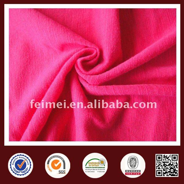 cotton spandex stretch single jersey cotton lycra stretch fabric