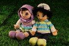 Lovely Plush Dolls/Muslim toy doll/Fashion doll