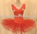 Vermelho trajes de balé / dancewear / estágio dancewear desempenho