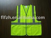 high-visibility reflective vest