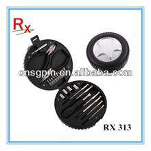 24pcs Mini Promotion Gift Tire Shape Hand Tool Kit