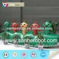 fibra de vidro carpenterworm festival decoração interna e jardim de esculturas