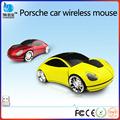 El modelo de coche accesorios de computadora, la forma del coche ratón inalámbrico, coche del ratón