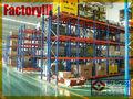 Sistema de plataforma de baca pesada para almacén / baca de almacenamiento