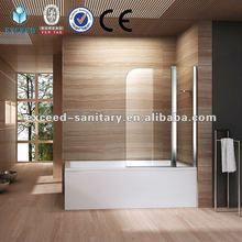 Pivot luxury bathtub screen