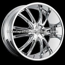 Aluminum Alloy Chrome Tuner Mag wheel 20 22 24 26 inch BOSSINI
