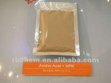 Nitrogen fertilizer npk complex Amino Acid + NPK