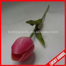 single stem artificial PU tulip flower