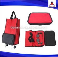 2015 Durable hot sale nylon foldable shopping bag