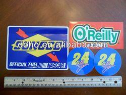 Supply die cutting machine for sticker labels -- DH 12571